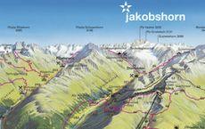 Pischa__Jakobshorn__Rinerhorn_Sommer_Panoramakarte_Davos_Klosters
