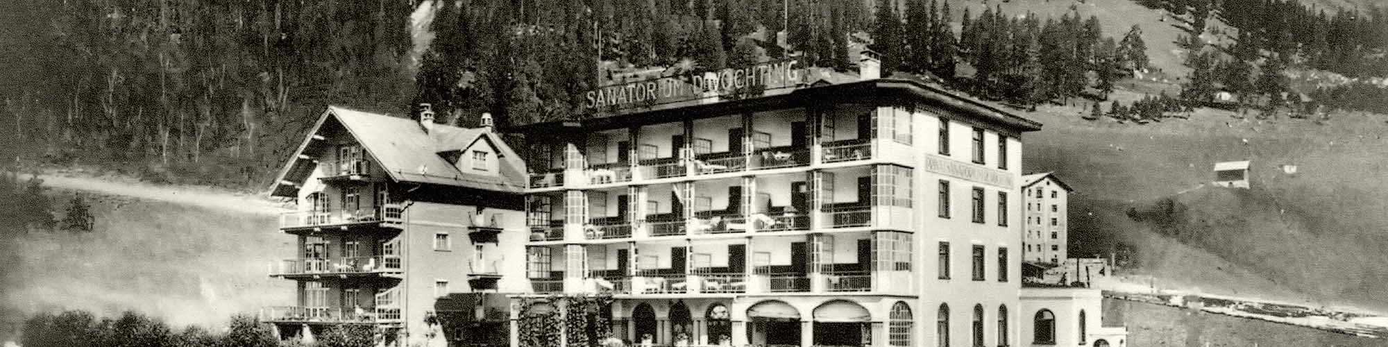 Hotel Davos - The history - of the hotel