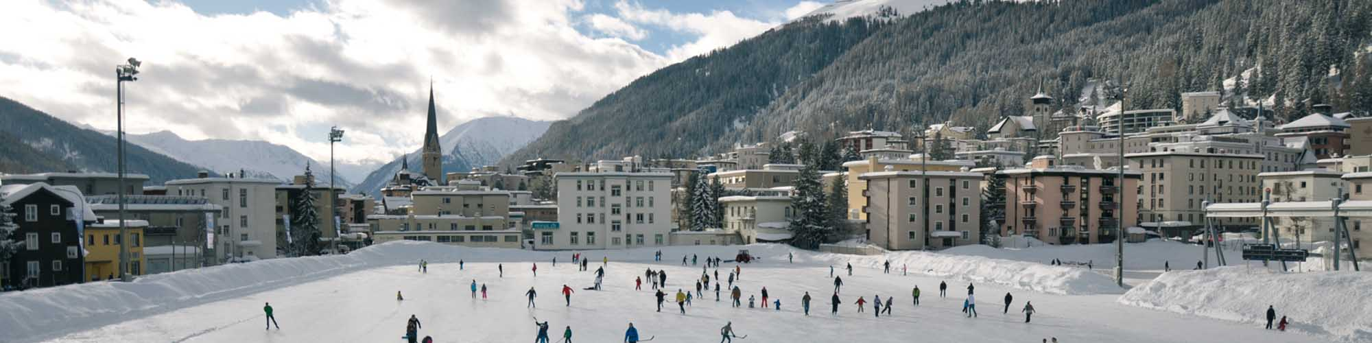 Hotel Davos - La plus grande patinoire naturelle - d'Europe