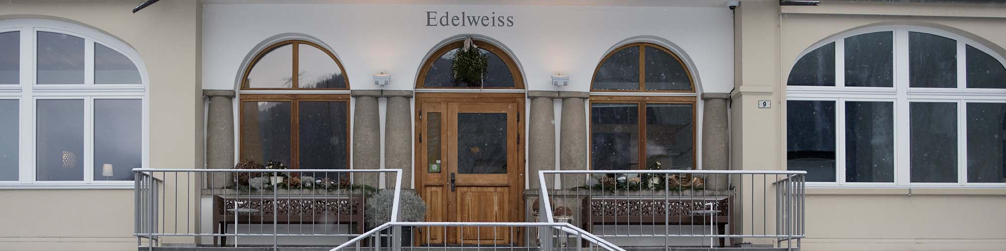 Hotel Davos - Hotel Edelweiss - a Davos