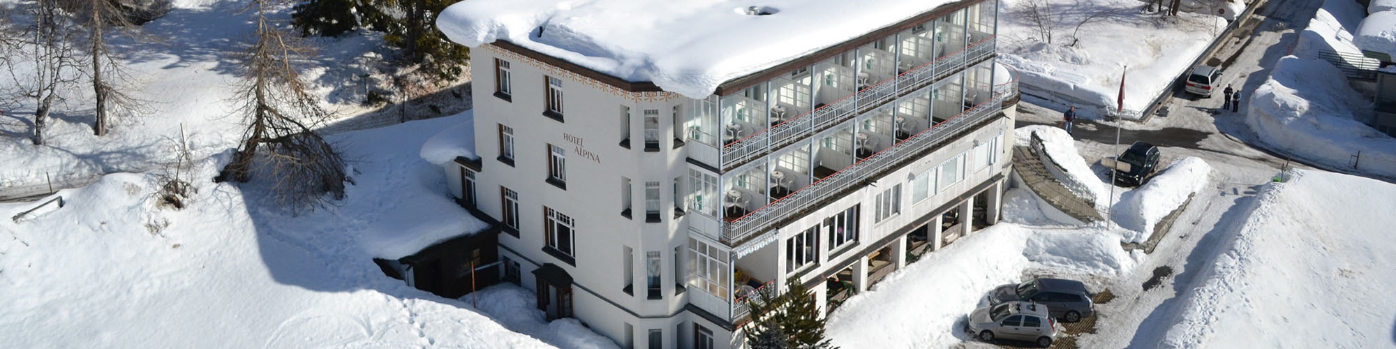 Hotel Davos - An bester Lage - in Davos